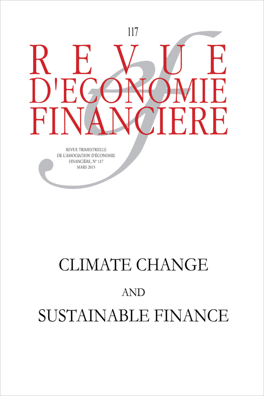 Climate change and sustainable finance