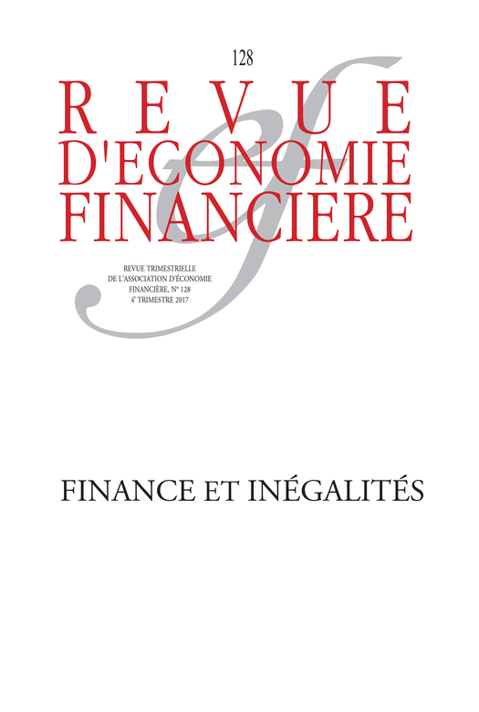 Finance and Inequalities