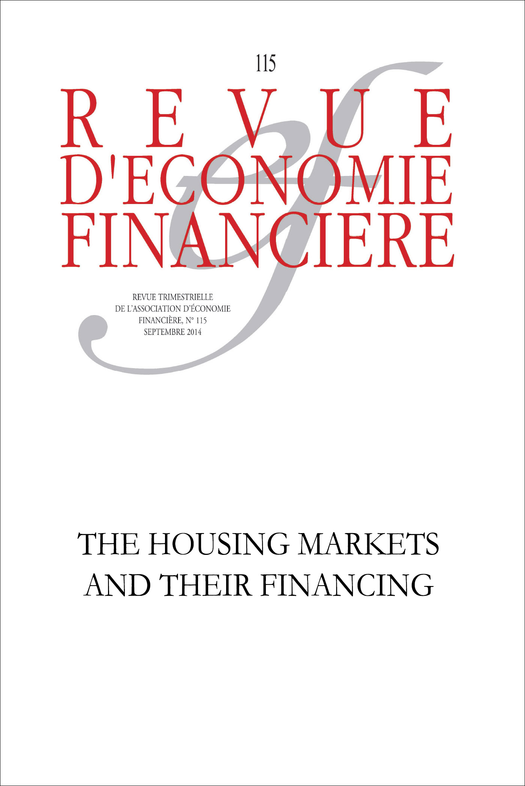 The housing markets and their financing