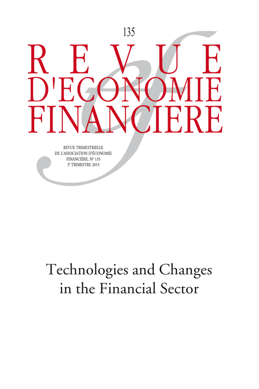 Technologies and Changes in the Financial Sector