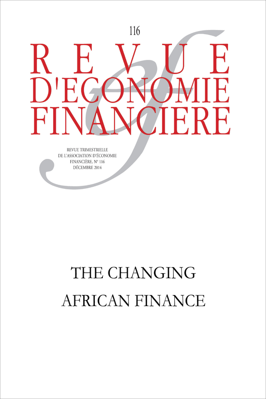 The changing African finance