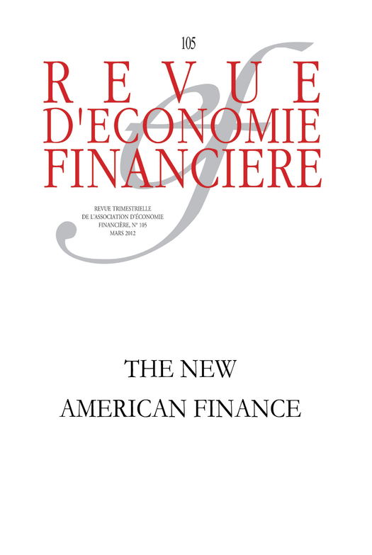 The new Américan finance