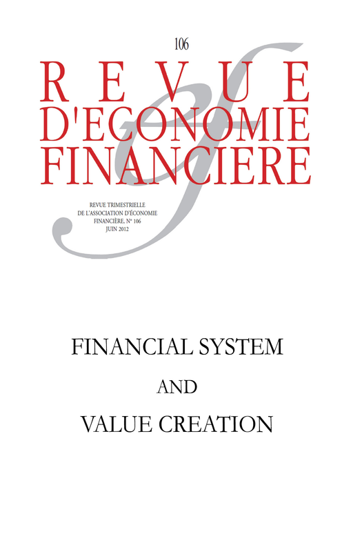 Financial system and value creation